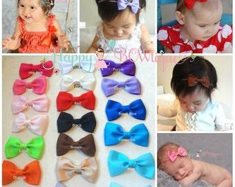 baby girls headband, Baby bow headband, Baby Headband, newborn headband, girls bow headbands, infant headband