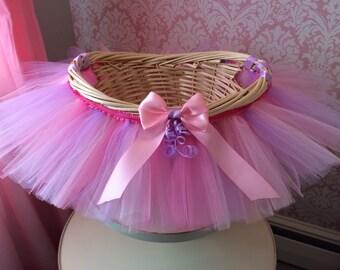 Baby easter basket etsy tutu basket tutu gift basket tutu baby shower basket wedding basket tutu negle Image collections
