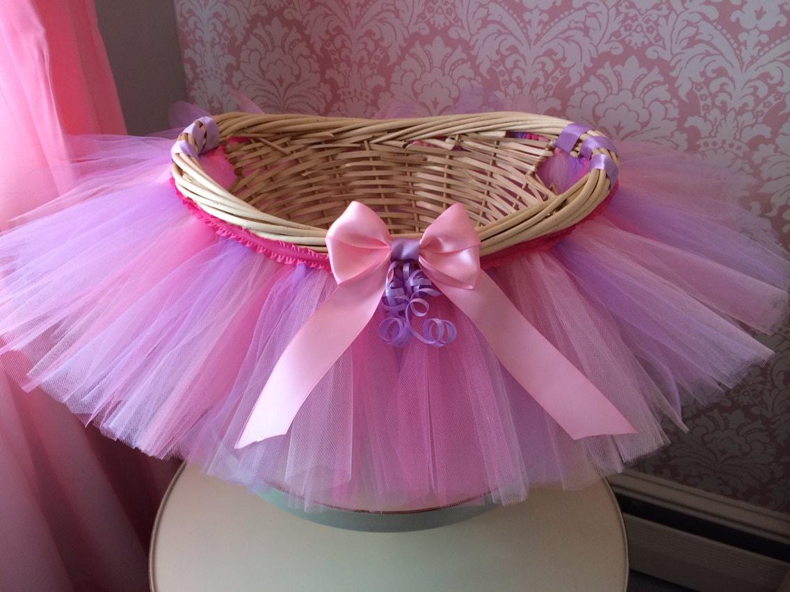 Baby Gift Baskets To Make : Tutu basket gift baby shower