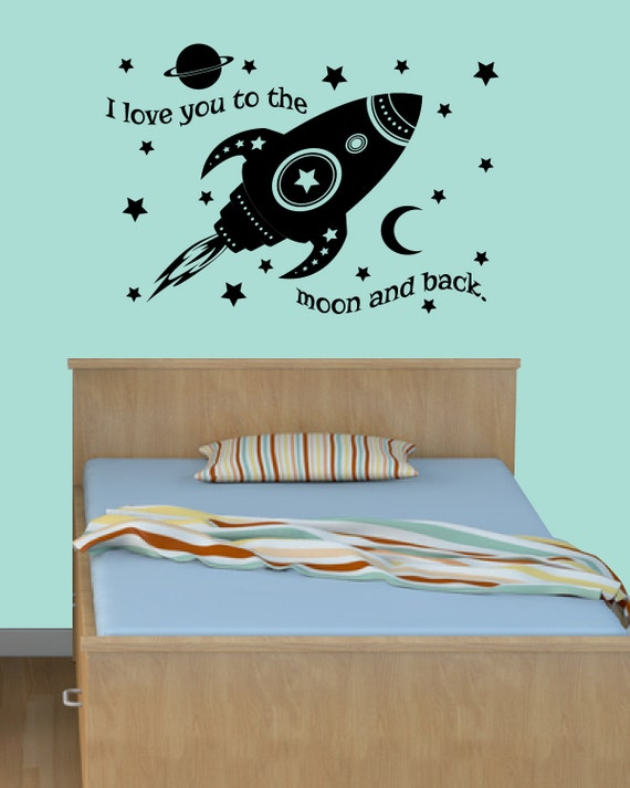 Items Similar To I Love You To The Moon And Back Vinyl: Items Similar To I Love You To The Moon And Back Decal
