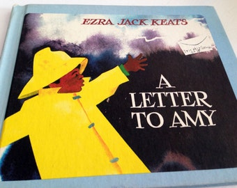 Vintage Book - A Letter to Amy by Ezra Jack Keats 1968