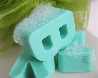 Soap Letters - An Alphabet for Bathtime! - FREE US SHIPPING!