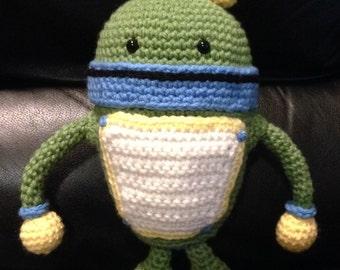 Free Crochet Pattern Umizoomi : Items similar to Bot - Team Umizoomi - Crochet Pattern ...
