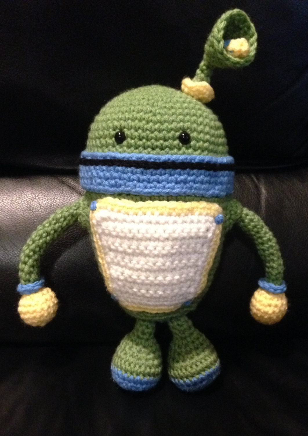 Free Crochet Pattern Umizoomi : PATTERN for Crochet BOT Inspired doll (Team Umizoomi) from ...