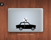 """Trabant 601 macbook pro and air stickers decal for 13,15,17"""""""