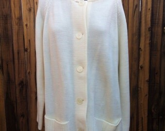 Vintage 60's Button Down Sweater