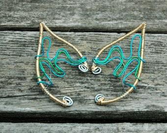 Waving Ocean Elf Ear Cuffs
