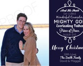 Customized Digital Christmas Card