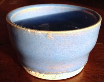 Small Ceramic Pot (Sky Blue)