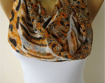 SALE ! 9,90 USD-Infinity Scarf Shawl Circle Scarf Loop Scarf ,Gift scarf-Fashion accessories- for her-