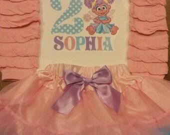 Abby birthday outfit, sesame street birthday outfit, sesame street abby, abby cadabby birthday outfit, abby cadabby