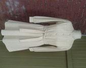 Vintage Tan Long Sleeve D...