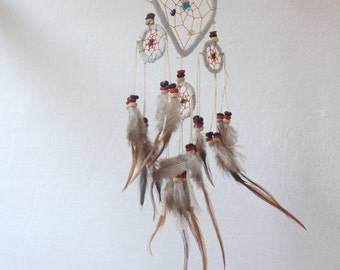 HEART Dreamcatcher Wall Hanging,Dreamcatcher Home Deco,Dreamcatcher,