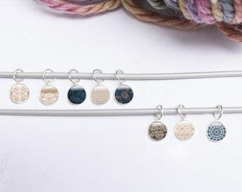 Knitting Gifts Stitch Markers - 8 Lace Stitch Markers - Small Knitting Gifts