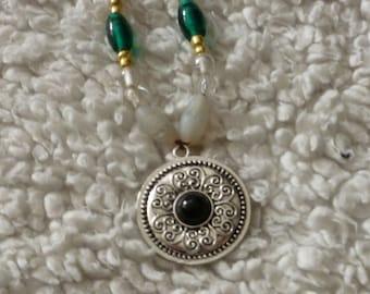 Viking Influenced Beaded Necklace