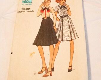 Vintage 1960s 1970s dress pattern Vogue 8246