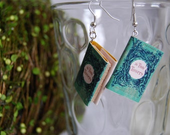 The Two Towers Book Earrings