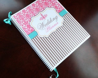 Wedding planner and organizer book izzy design cover engagement