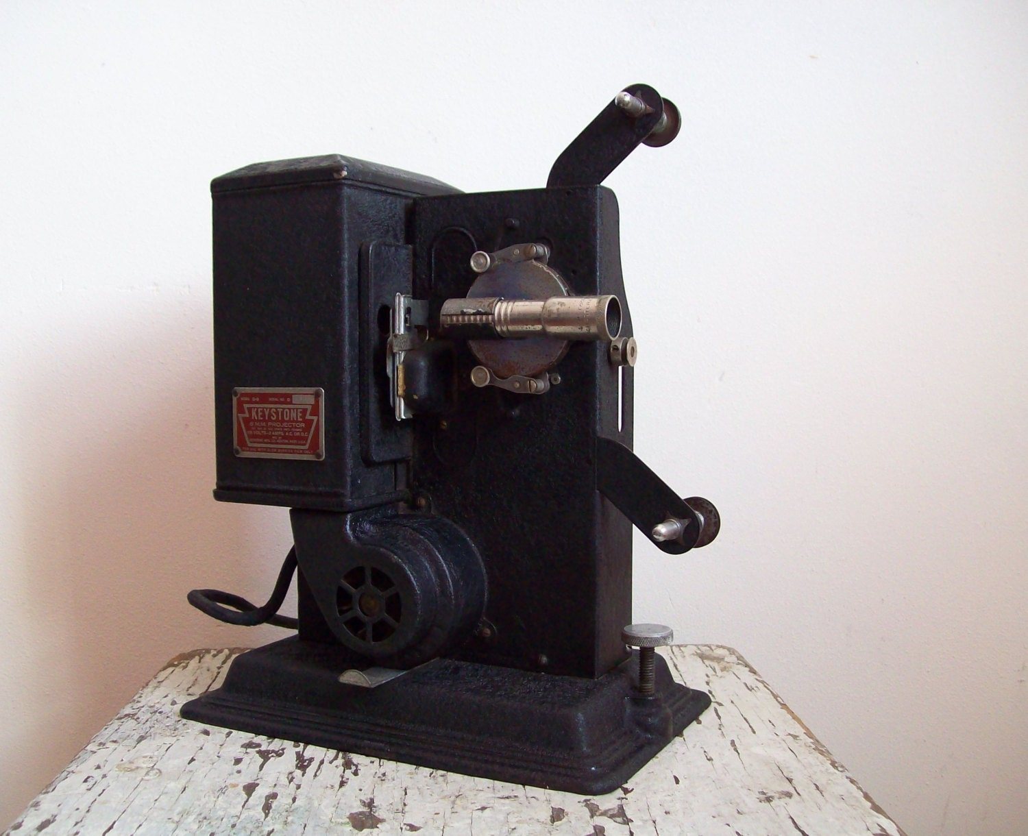Antique movie projector keystone model g 8 1932 8 mm film for Movie photos for sale