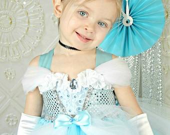 Cinderella Dress- Cinderella tutu dress- cinderella tulle dress- cinderella costume