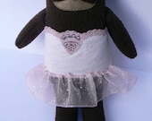 Handmade Ballerina Sloth Plush