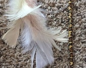 Flying Feather Kitty Teaser Cat Toys / Optional Jingle Bell