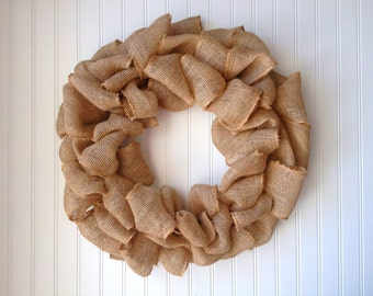 Bare Burlap wreath. Fall wreath,fall door wreath,wreath for fall. Door wreath, burlap door wreath,housewarming gift.