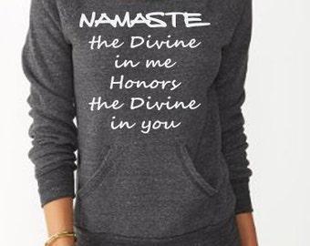 NAMASTE  Yoga Sweatshirt