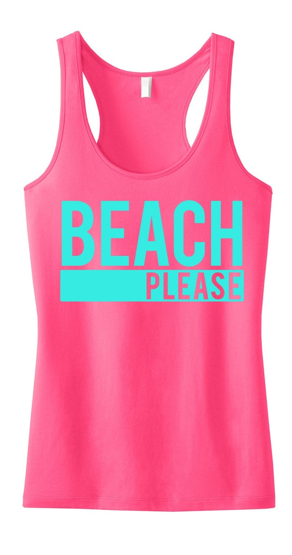 beach please tank top beach clothes beach tank beach