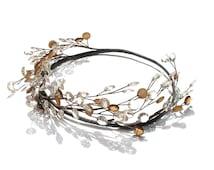 Rustic Hair Accessories, Wedding Circlet, Country Bride, Fairy Head Wreath, Woodland Hair Wreath, Grecian headpiece, Halo