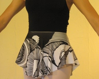 Patterned SAB Ballet Skirt
