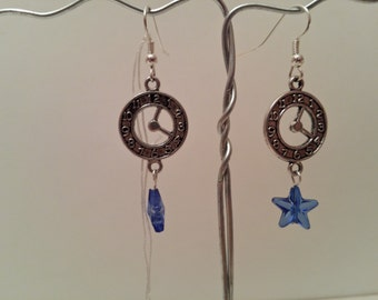 Fairytale Clock Earrings