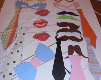 Assorted Photo Booth Prop package -24