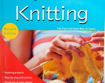 Teach Yourself Visually Knitting By Sharon Turner Paperback Knitting Book 2010