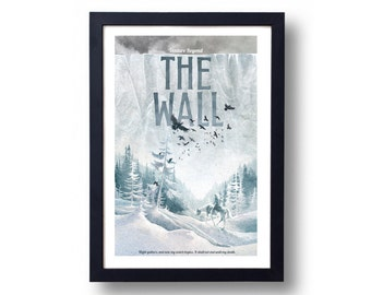 Game of Thrones Poster The Wall Travel Poster
