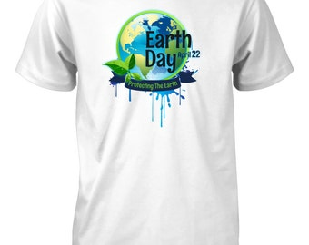 Men's Earth Day Protect the Earth T-Shirt Recycle Planet Environment Eco Tee