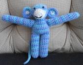 Blue Mini Monkey