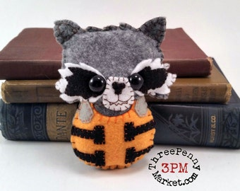 Rocket Raccoon plushie