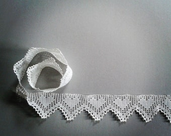 crochet filet lace trim, shelves border, crochet home decor, italian kitchen ornament, crochet filet shelf edgings, scrapbook embellishment