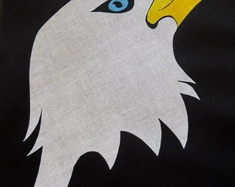 Eagle Head 2 Quilt Applique Pattern Design