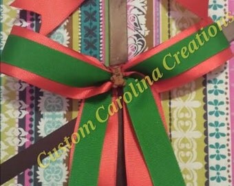 SALE: Gingerbread Christmas Bow