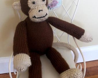Monkey, Hand Knit