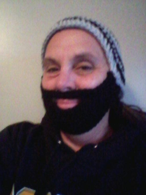 Bearded Beanie Hat