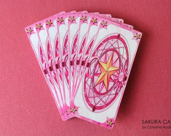 Sakura Cards from Cardcaptor Sakura