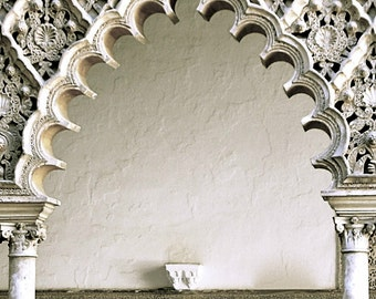 Spanish Arch - Digital Photography - Spanish Photography, Spanish Door, Spanish Architecture, Spanish Decor, Spanish Design,