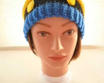 Final Fantasy Inspired Black Mage's Crocheted Hat