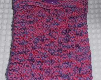 iPad Mini Cover, iPad Mini Case, iPad Mini Sleeve, Hand Knitted,