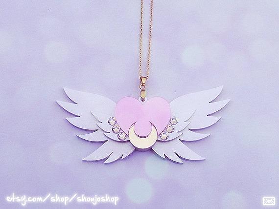 moon sailor brooch eternal necklace mini order pre transformation