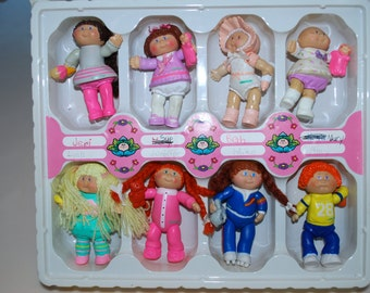 My Cabbage Patch Kids Brag Bag Case Collection Dolls Figures 1984