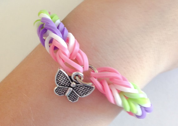 Fishtail Loom Band Bracelet Loom Fishtail Rubber Band